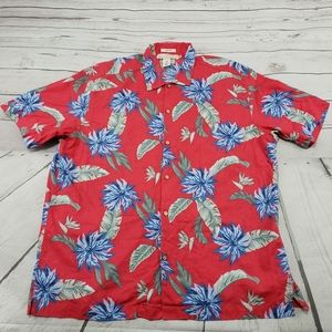 Label Of Graded Goods Shirt Size XL Hawaiian Used